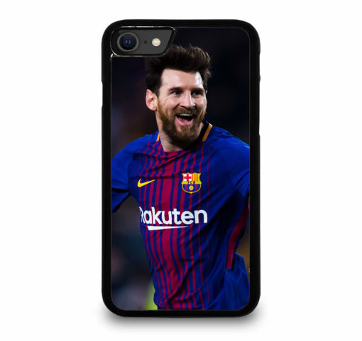 Lionel Messi FC Barcelona for iPhone SE (2020) Case Cover