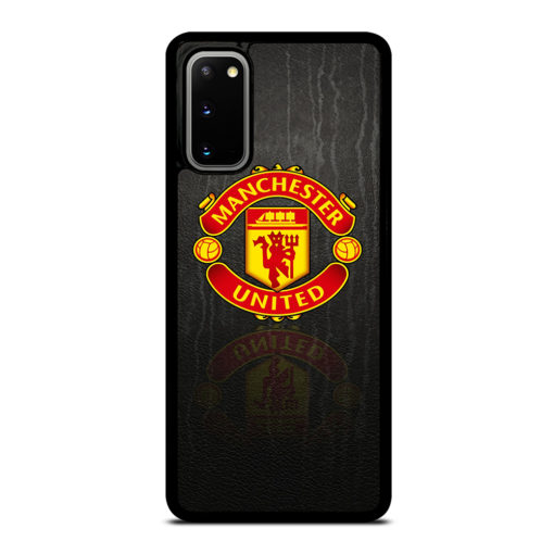 MANCHESTER UNITED LOGO PATTERN for Samsung Galaxy S20 Case
