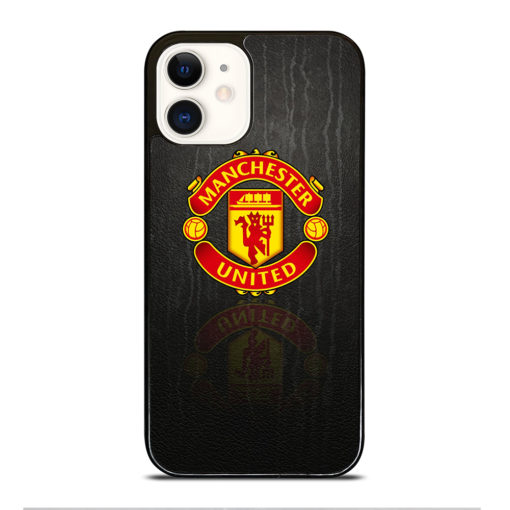 MANCHESTER UNITED LOGO PATTERN for iPhone 12 Case Cover