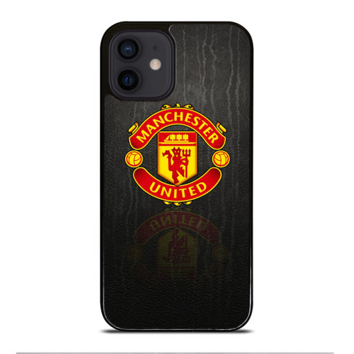 MANCHESTER UNITED LOGO PATTERN for iPhone 12 Mini Case Cover