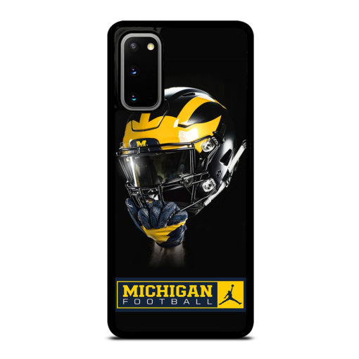 MICHIGAN WOLVERINES HELMET for Samsung Galaxy S20 Case Cover