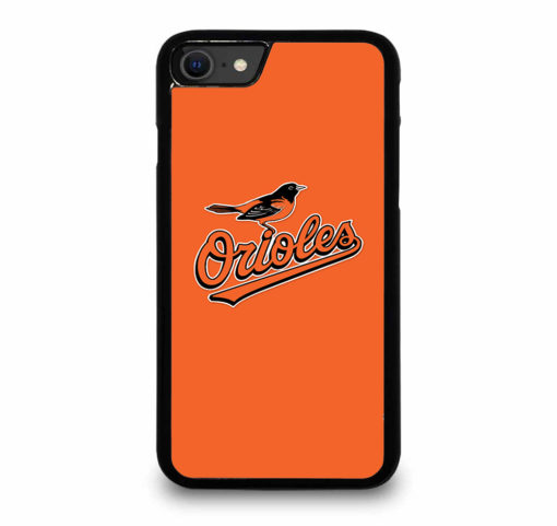 MLB Baltimore Orioles Logo for iPhone SE (2020) Case Cover