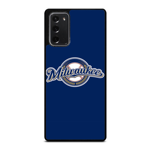 MLB Milwaukee Brewers for Samsung Galaxy Note 20 Case