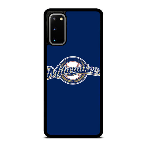 MLB Milwaukee Brewers for Samsung Galaxy S20 Case Cover