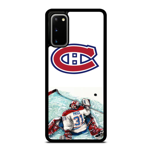 MONTREAL CANADIENS CAREY PRICE for Samsung Galaxy S20 Case Cover