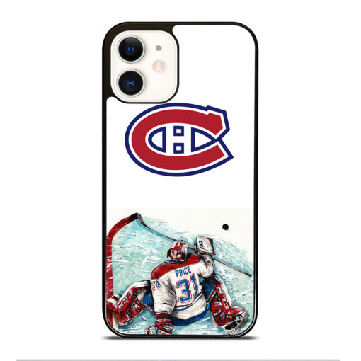 MONTREAL CANADIENS CAREY PRICE for iPhone 12 Case