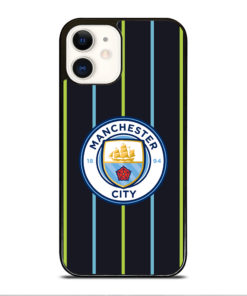 Manchester City Stripe Logo for iPhone 12 Case Cover