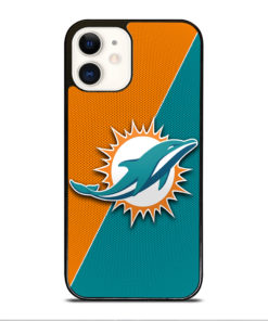 NFL Miami Dolphins Logo for iPhone 12 Case Cover