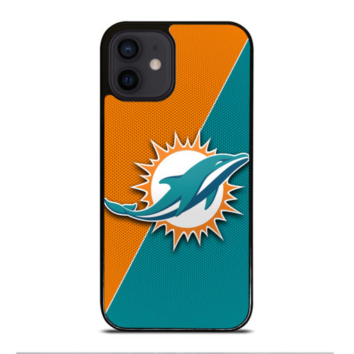 NFL Miami Dolphins Logo for iPhone 12 Mini Case Cover