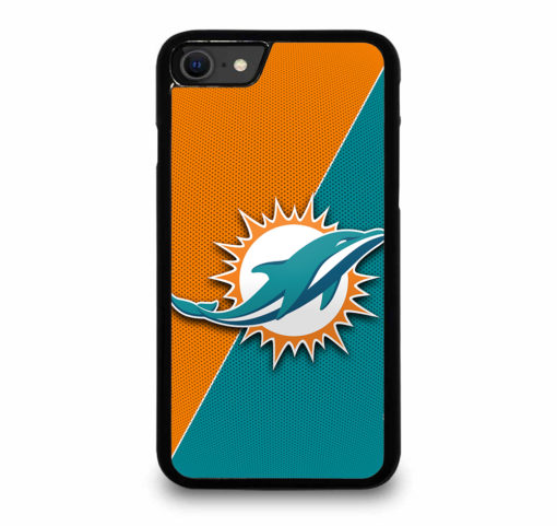 NFL Miami Dolphins Logo for iPhone SE (2020) Case Cover