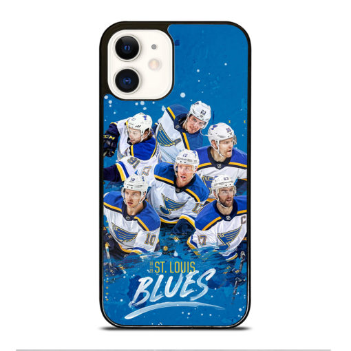 NHL ST Louis Blues for iPhone 12 Case Cover