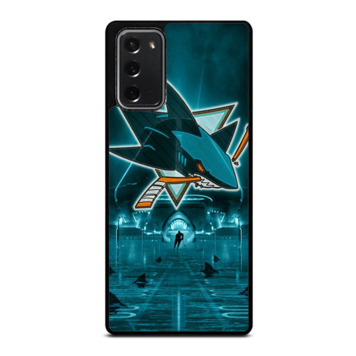 NHL San Jose Sharks for Samsung Galaxy Note 20 Case Cover
