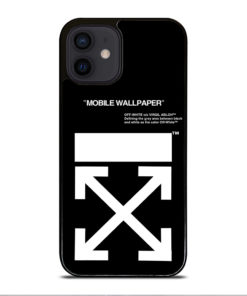 Off White Logo for iPhone 12 Mini Case Cover