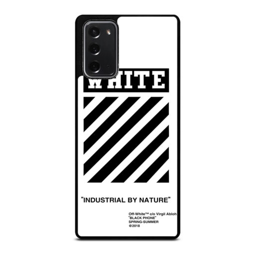 Off White for Samsung Galaxy Note 20 Case
