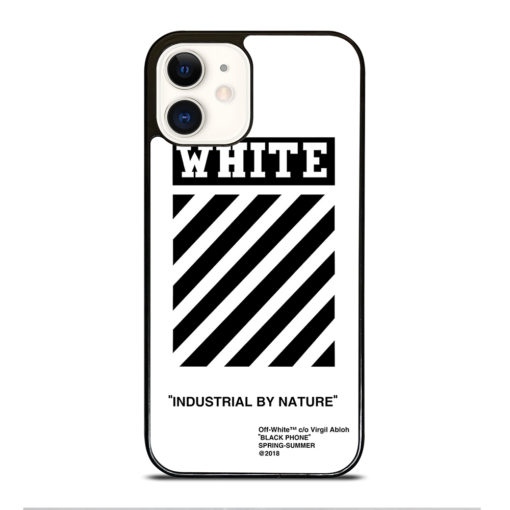 Off White for iPhone 12 Case Cover
