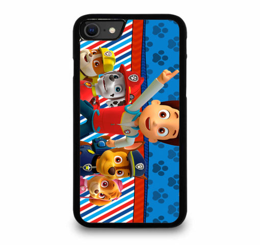 PAW PATROL AND FRIENDS for iPhone SE (2020) Case