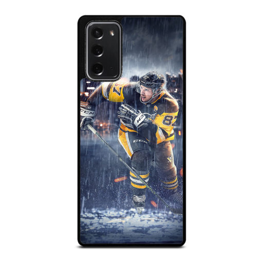 Pittsburgh Penguins Sidney Crosby for Samsung Galaxy Note 20 Case Cover