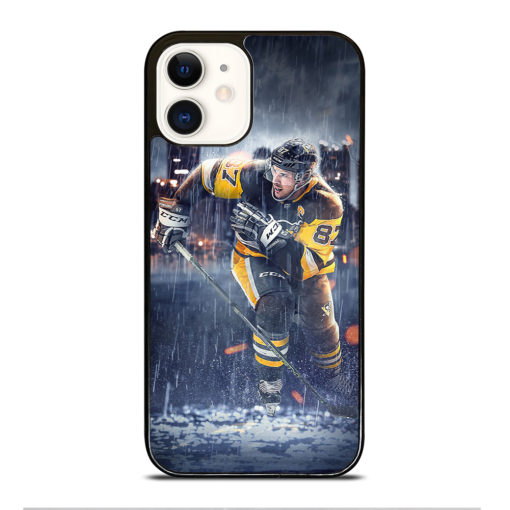 Pittsburgh Penguins Sidney Crosby for iPhone 12 Case Cover