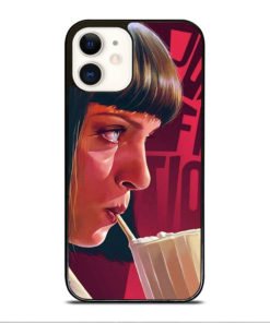 Pulp Fiction Mia Wallace for iPhone 12 Case Cover