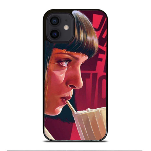 Pulp Fiction Mia Wallace for iPhone 12 Mini Case