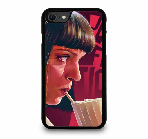 Pulp Fiction Mia Wallace for iPhone SE (2020) Case Cover