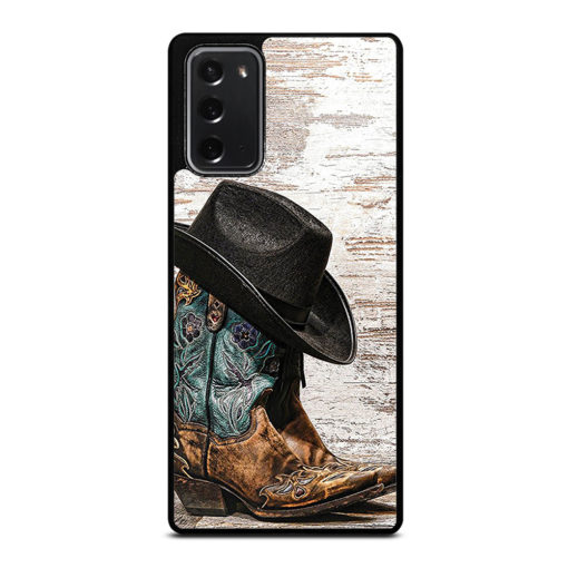 Rodeo Cowboy Lasso Boots for Samsung Galaxy Note 20 Case Cover
