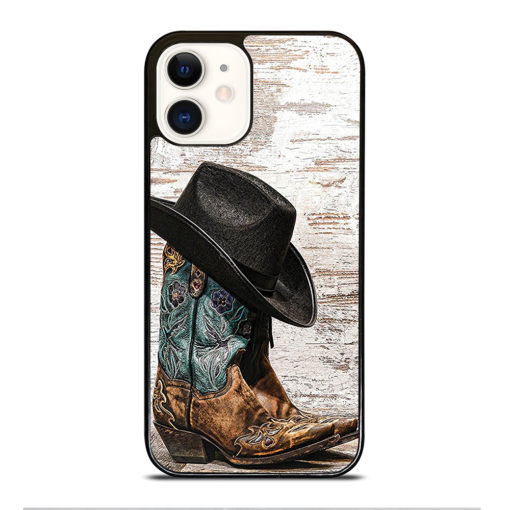 Rodeo Cowboy Lasso Boots for iPhone 12 Case