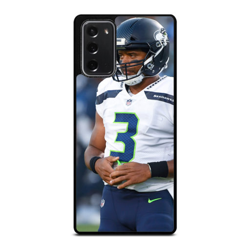 Russell Wilson Seattle Seahawks for Samsung Galaxy Note 20 Case