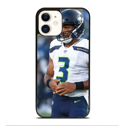 Russell Wilson Seattle Seahawks for iPhone 12 Case Cover