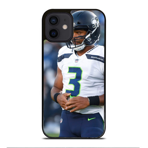 Russell Wilson Seattle Seahawks for iPhone 12 Mini Case