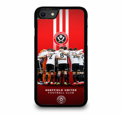 SHEFFIELD UNITED FC CLUB for iPhone SE (2020) Case Cover