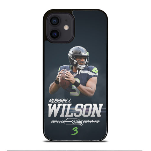 Seattle Seahawks Russell Wilson for iPhone 12 Mini Case