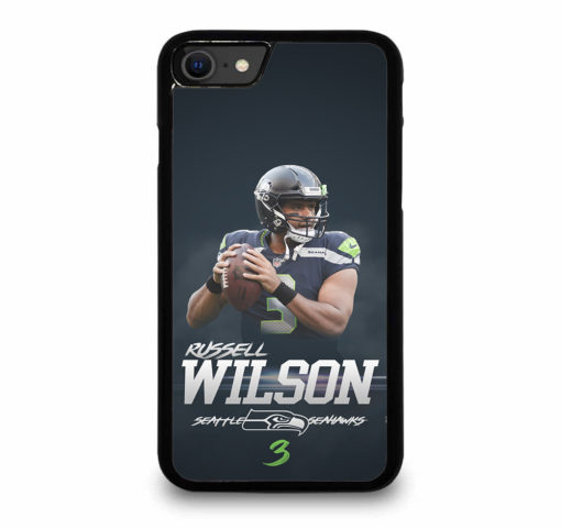 Seattle Seahawks Russell Wilson for iPhone SE (2020) Case Cover
