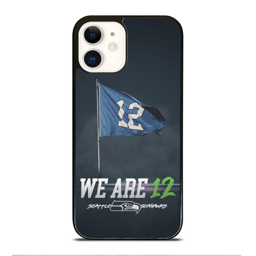 Seattle Seahawks We Are 12 for iPhone 12 Case Cover
