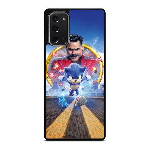 Sonic The Hedgehog Poster for Samsung Galaxy Note 20 Case