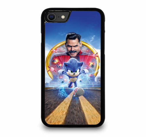 Sonic The Hedgehog Poster for iPhone SE (2020) Case