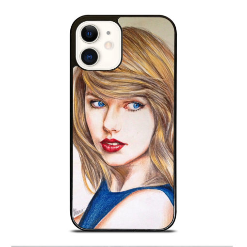 TAYLOR SWIFT ART for iPhone 12 Case