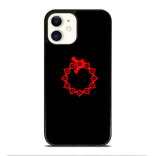 THE SEVEN DEADLY SINS LOGO for iPhone 12 Case Cover
