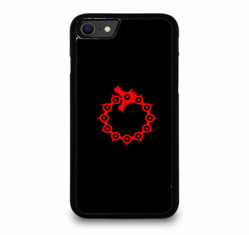 THE SEVEN DEADLY SINS LOGO for iPhone SE (2020) Case Cover