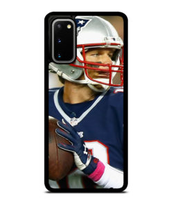 TOM BRADY HOLDING BALL for Samsung Galaxy S20 Case