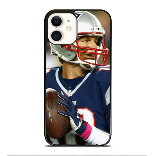 TOM BRADY HOLDING BALL for iPhone 12 Case Cover