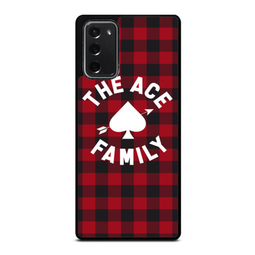 The Ace Family Logo for Samsung Galaxy Note 20 Case