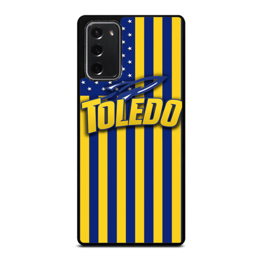 Toledo Rockets for Samsung Galaxy Note 20 Case Cover