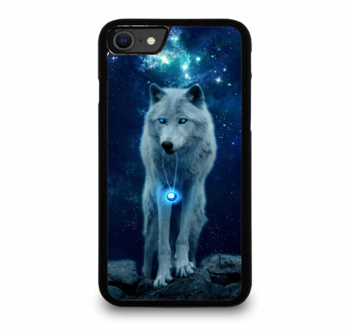 WOLF SPACE for iPhone SE (2020) Case Cover