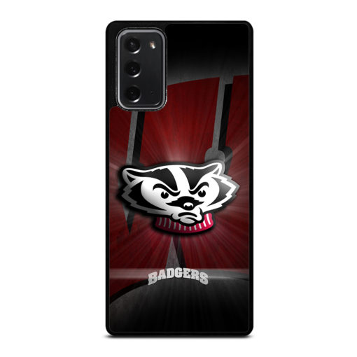 Wisconsin Badgers Logo for Samsung Galaxy Note 20 Case Cover