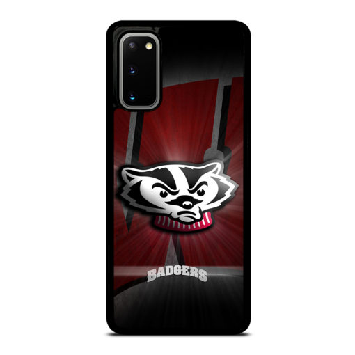 Wisconsin Badgers Logo for Samsung Galaxy S20 Case