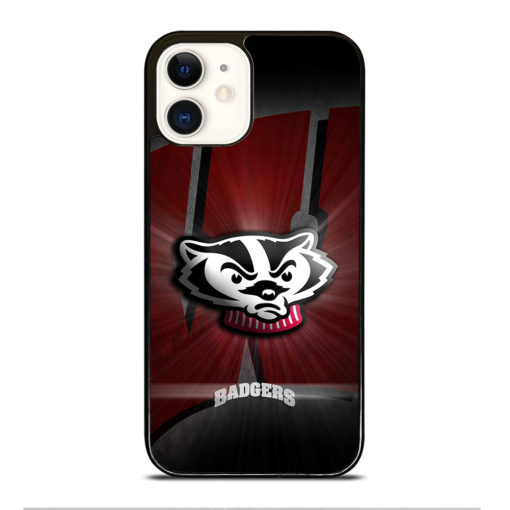 Wisconsin Badgers Logo for iPhone 12 Case