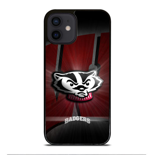 Wisconsin Badgers Logo for iPhone 12 Mini Case